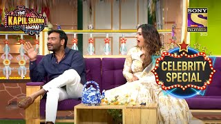 Is Ajay Afraid Of Kajol? | The Kapil Sharma Show S1 | Kajol | Celebrity Special