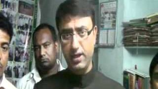 Repeat youtube video Amjed Ullah Khan @ Khaled's Statement on Rejection Notice of MBT jalsa at Hafiz Baba Nagar