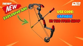 🔴 NEW BOOM BOW 🏹 | Ramayana 🤣 | Use Code: CAPABLE in Shop | Fortnite India | #Team_Capable
