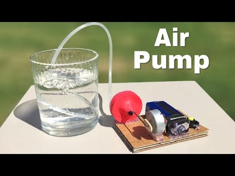 How To Make A Mini Electric Air Pump At Home