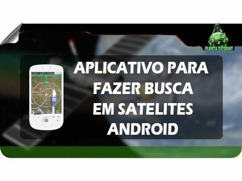 aplicativo para celular localizar satelite