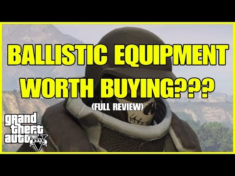GUNRUNNING DLC - IS THE BALLISTIC EQUIPMENT WORTH BUYING? ***FULL REVIEW*** (GTA ONLINE)