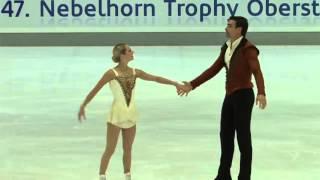 Alexa SCIMECA / Chris KNIERIM FS 2015 Nebelhorn Trophy