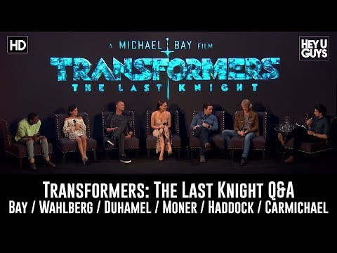 Transformers - The Last Knight London Q&A