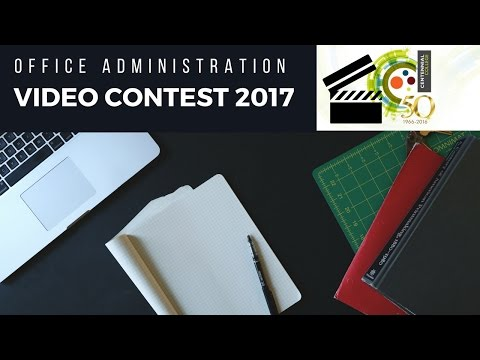 Office Admin. Video Competition 2017