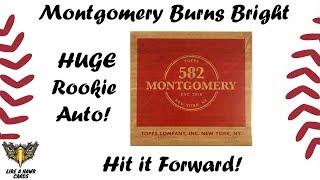 582 Montgomery Club Set #3 - BIG Rookie Auto!  Hit it Forward! Buried Treasure Winner!