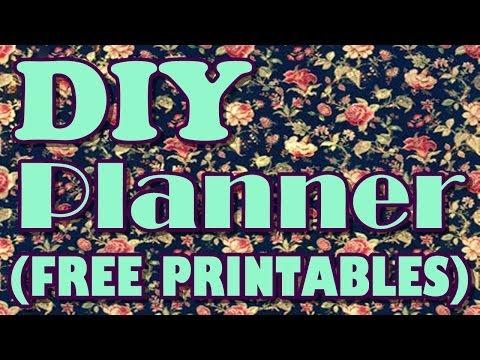 My DIY Planner Tour {FREE PRINTABLES}