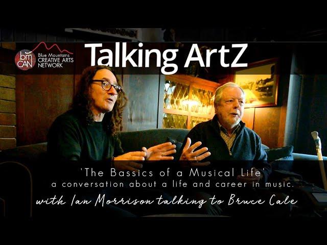 Talking ArtZ Episode 08 | Ian Neil Morrison talking to Bruce Cale on June 1st 2019 at the Carrington