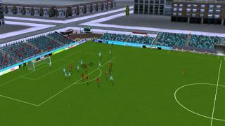 Dordrecht - Twente - Doelpunt Ebecilio 33 minuten