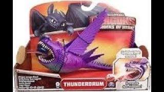 Игрушка дракон - Могучий громовой THUNDERDRUM How To Train Your Dragon   Thunderdrum Toy