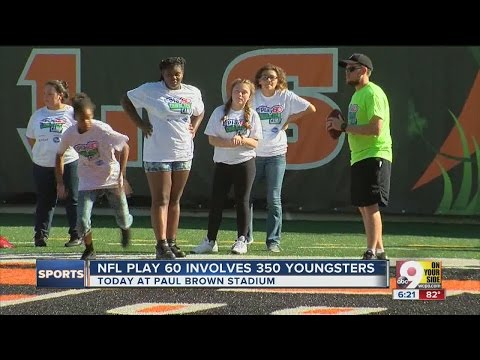 Anthony Munoz, Bengals promote character, play with NFL Play 60
