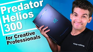 2020 Acer Predator Helios 300 for Video Editing, Motion Design, 3D Modeling, and Photo Editing