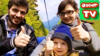 VLOG д2. Поднимаемся на горнолыжном подъемнике на гору Чантория Czantoria, выходные в горах Oscar TV(, 2016-05-11T15:00:18.000Z)