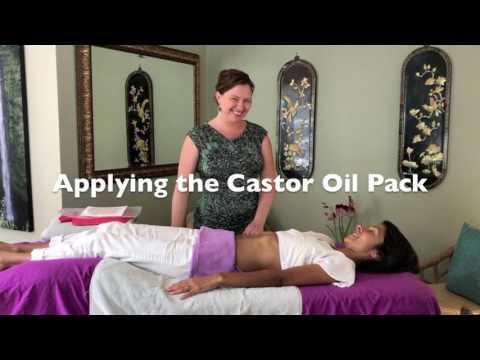 How To Do A Castor Oil Pack