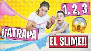 1 2 3 ¡¡ATRAPA EL SLIME!! 😱 Encuentra el ingrediente // Familukis