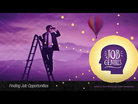 Best Places to Find Job Openings – Finding Job Opportunities, Job Genius