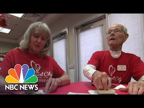 Cupid's Helpers In Loveland, Colorado Send 100,000 Special Valentines Each Year | NBC Nightly News
