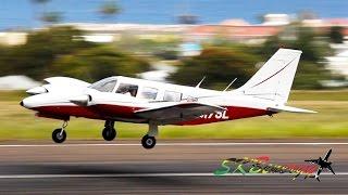 Piper PA-34-200T Seneca action @ St. Kitts (HD 1080p)