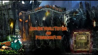Reign of Kong Ride Vehicle Test  and  Pteranodon Flyer