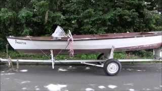 Elektro - Sportboot 6,4 m mit CREE MH 80 Elektroantrieb Musik Backstage