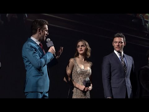 Thumbnail: Beauty and the Beast Shanghai Cast Interview - Emma Watson, Dan Stevens, Luke Evans, Josh Gad