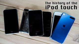 The history of the iPod touch