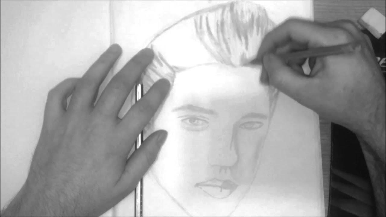 drawing elvis presley youtube
