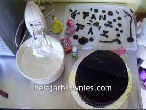 birthday cake chocolate brownies kukus indonesia you can review music ...