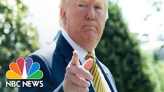 Watch: Trump Comments On Iranian General's Death | NBC News (Live Stream)