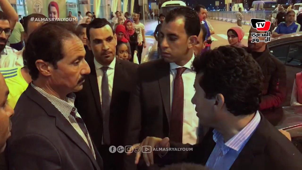 المصري اليوم:والد مصارع ينفعل علي وزير الرياضة: «كل حاجة مفيش فلوس» والوزير يرد: «إهدى شوية»