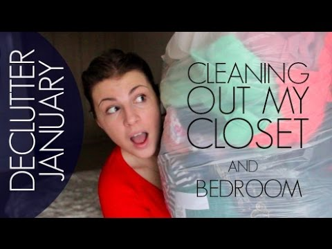 Cleaning out my closet declutterjanuary youtube - Cleaning out your closet ...