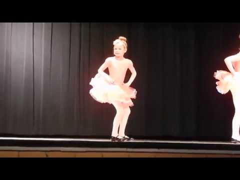 Miri's third tap recital - 2018