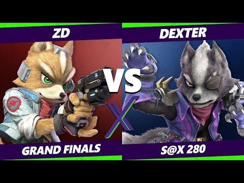 Smash Ultimate Tournament - Demise | ZD [L] (Fox) Vs. Dexter (Wolf) - S@X 280 SSBU Grand Finals