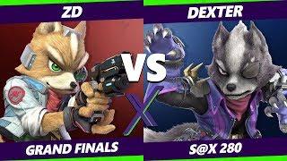 Smash Ultimate Tournament - Demise   ZD [L] (Fox) Vs. Dexter (Wolf) - S@X 280 SSBU Grand Finals