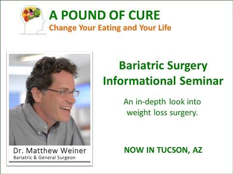 Dr. Matthew Weiner's Bariatric Surgery Informational Seminar