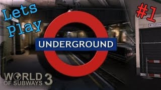 World of Subways Vol. 3: Circle Line [Lets Play] #1 | Edgware Road to Tower Hill [Commentary]