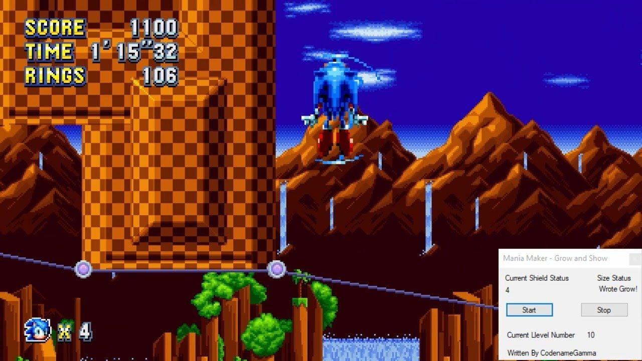 Sonic Mania PC - Mania Maker 2 Teaser - Coming soon, hopefully