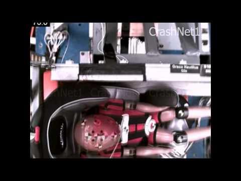 Child Seat Crash Test | Graco Nautilus | Forward Facing, Side Impact Test | 3 Yr