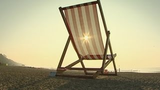 Giant Deckchair Towers Over Bournemouth Beach
