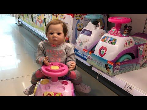 Шопинг с куклами реборн Shopping With Reborn Doll