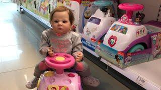 Обложка на видео о Шопинг с куклами реборн Shopping with reborn doll