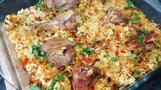 Курица с рисом в духовке - Ани Кухня!