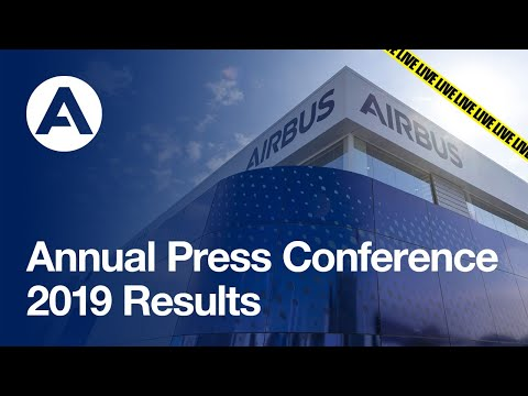 Annual Press Conference on the 2019 #AirbusResults
