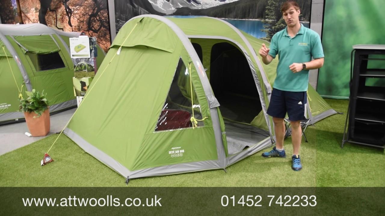2018 Vango Outdoor Camping Skye 400 Tent Treetop Green