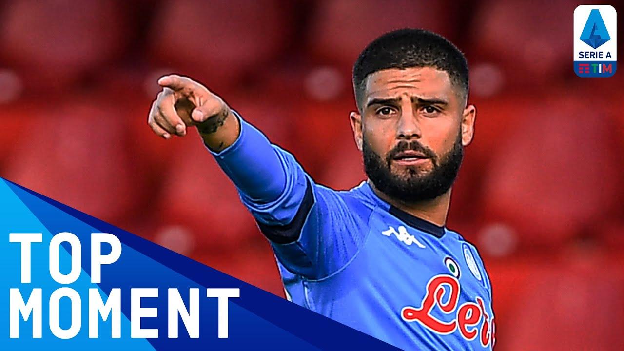 Lorenzo Insigne scores a ROCKET for Napoli | Benevento 1-2 Napoli | Top Moment | Serie A TIM