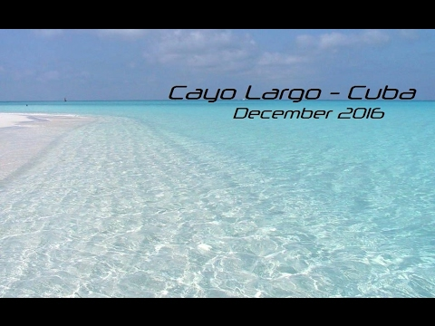 Cayo Largo,Cayo Rico - Cuba December 2016 Gopro