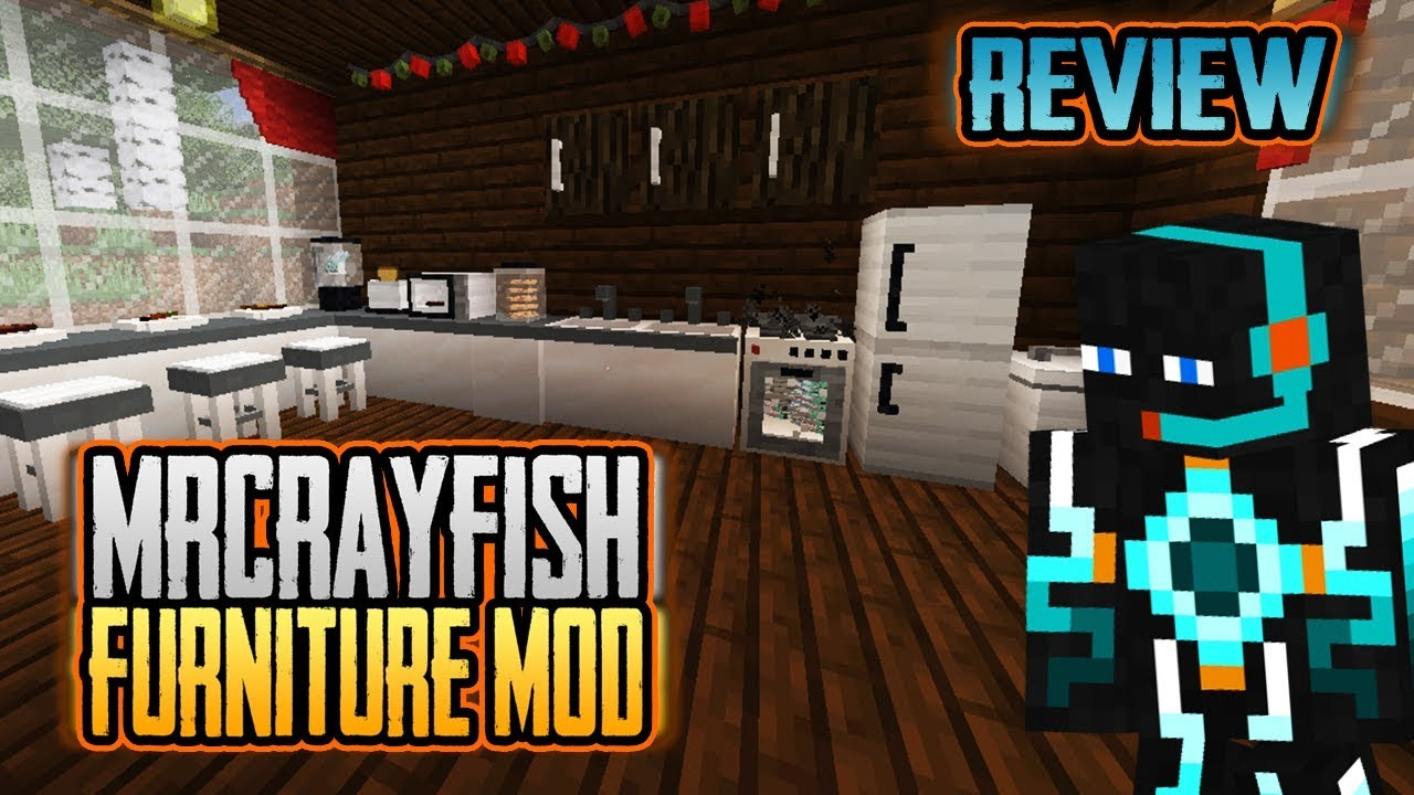 Minecraft Kitchen Mod 1.12.2 Review Mrcrayfish Furniture Mod 1 12 1 12 1 1 12 2