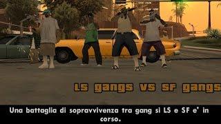 GTA san andreas - DYOM mission # 78 - LS Gangs vs SF Gangs