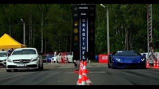 Mercedes-Benz CLS63 AMG vs Lamborghini Aventador
