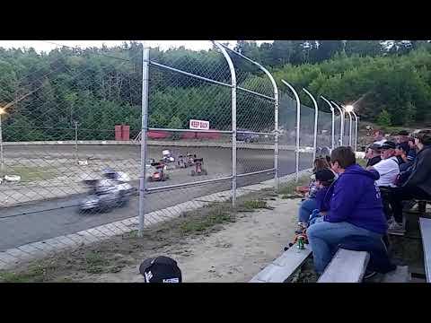 Legion Speedway 6/15/18 500cc Mini Sprint Feature race